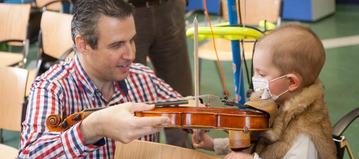 Το βιολί και η Νεφέλη