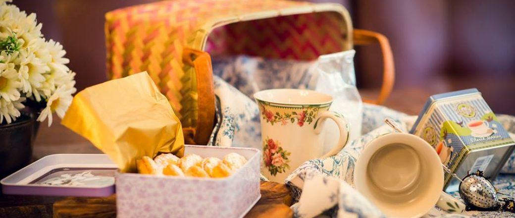 Το  chari-tea project απόκτησε το καλάθι του…