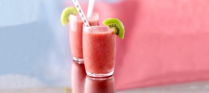 Δροσερό smoothie με καρπούζι