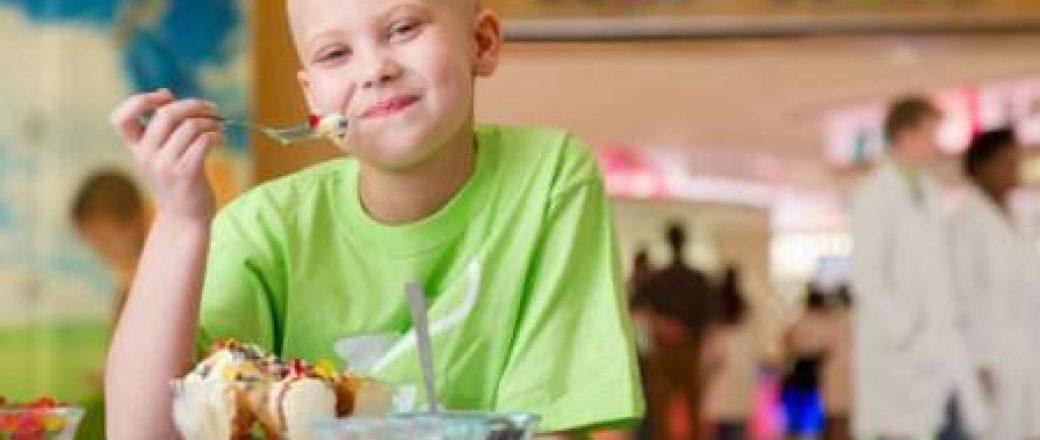 Η διατροφή του παιδιού σε θεραπεία