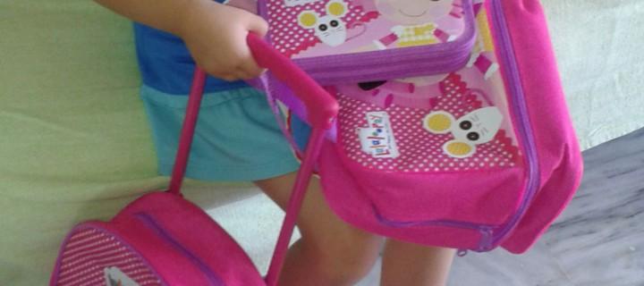 Η πρώτη μας τσάντα!