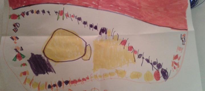η Νεφέλη ζωγραφίζει με χρώματα