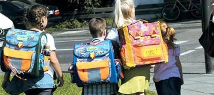 Πώς μπορούμε να προστατεύσουμε την σπονδυλική στήλη των παιδιών από τα βαριά σακίδια;