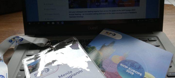 Ετήσια Συνάντηση της Ευρωπαϊκής Εταιρείας Παιδιατρικής Ογκολογίας στην Πράγα.